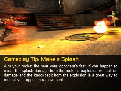 NEWBIE TIP - Splash Damage